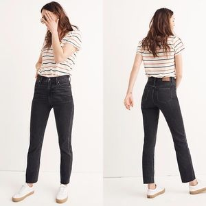 Madewell The Perfect Summer Jean in Crawley Black